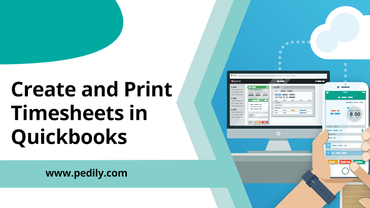 Create and Print Timesheets in Quickbooks