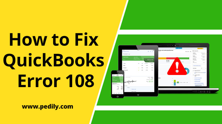 How to Fix QuickBooks Error 108