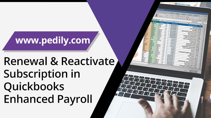 Renewal & Reactivate Subscription in Quickbooks Enhanced Payroll