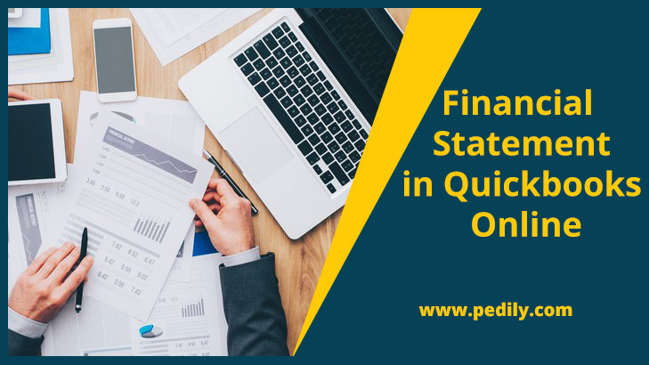 Financial Statement in Quickbooks Online
