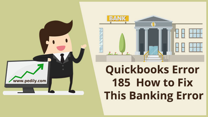 Quickbooks Error 185 || How to Fix This Banking Error