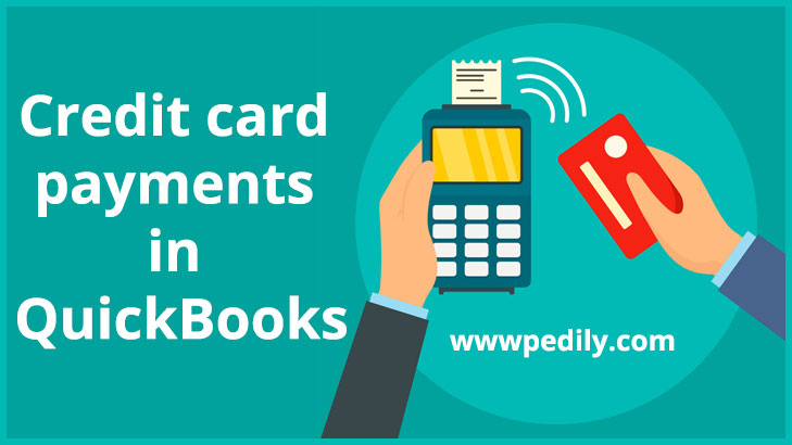 Credit card payments in QuickBooks
