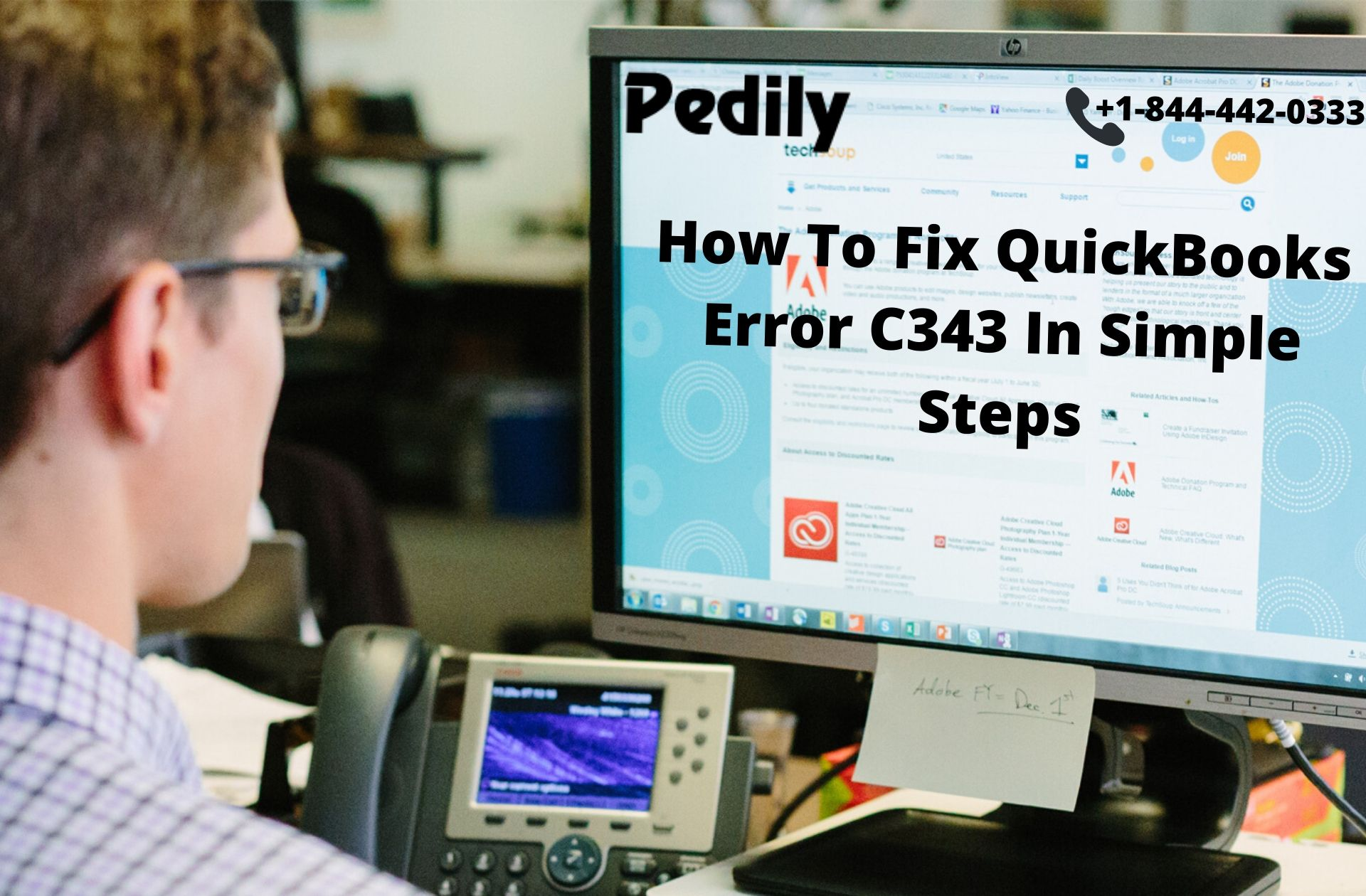 How To Fix QuickBooks Error C343 In Simple Steps