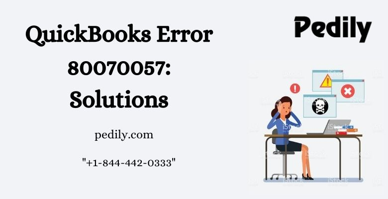 QuickBooks Error 80070057