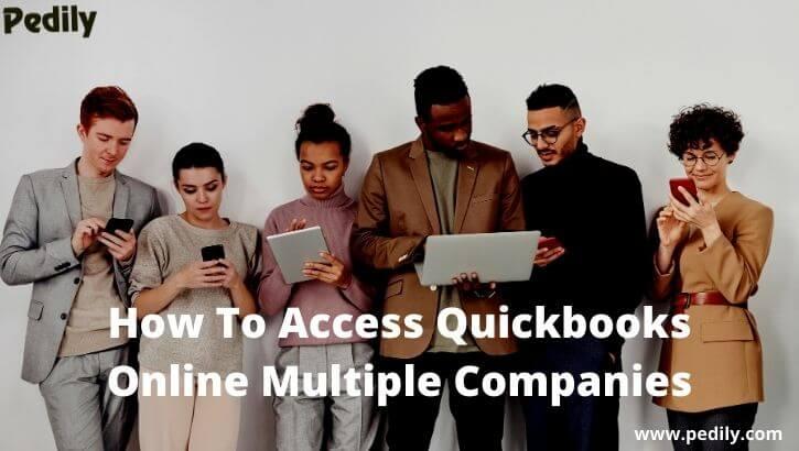 Quickbooks Online Multiple Companies